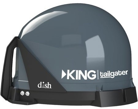 KING VQ4500 Tailgater Portable/Roof Mountable Satellite TV Antenna