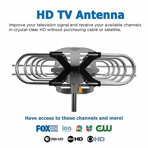 Antenna Receiving 1080p Channels